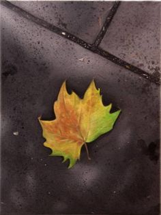 "Saatchi Art Artist Gennaro Santaniello; Painting, ""London autumn comes early""…"