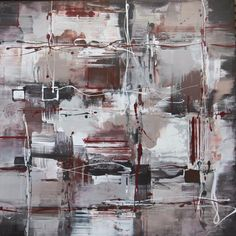 Large collection of abstract art