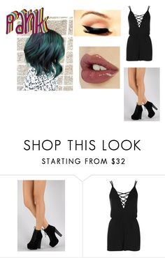 """""""pank"""" by li-directioner ❤ liked on Polyvore featuring Topshop and Charlotte Tilbury"""