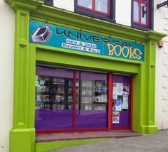 The cool place to hang out, Universal Books, Letterkenny, Ireland