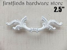 1 French Provincial Handle Shabby Chic Fancy Drawer by Firstfinds