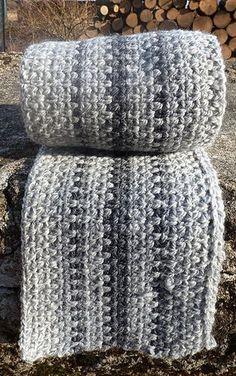 Super fast scaf made using Granite Stitch (crochet)