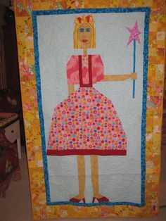 "Princess from the book ""Out of the Box with Easy Blocks"""