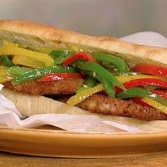 Mario Batali's Fried Pork Chop Sandwiches