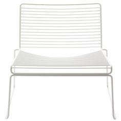 Hay Hee lounge stol hvit | Ting