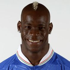 Mario Balotelli. Manchester city player Plays for Italy national team.