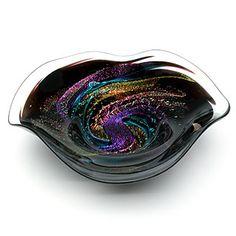 Light Opera - blown glass - art glass, paperweights, vases, kaleidoscopes Glass bowl Mosaic Glass, Fused Glass, Blown Glass Art, Kaleidoscopes, Glass Paperweights, Tea Sets, Colored Glass, Mosaics, Vases