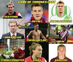 Game of Thrones with Lord Bendtner