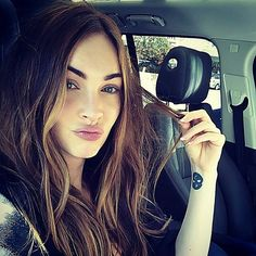 Love this selfie 😍 #MeganFox