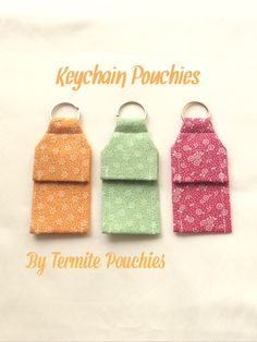 A personal favorite from my Etsy shop https://www.etsy.com/listing/265357687/3-pack-of-flower-print-keychain