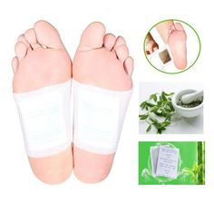 Hot Herbal Kinoki Detox Foot Pad Patch Traditional Chinese Medicine Plaster Improve Sleep Bamboo Massage Relax Pain Relief B010