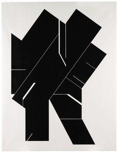 De Pablo Palazuelo, Sotheby's oferta este Angular I, 2003; estimación: 80.000-120.000 libras Art Espagnole, Deco Paint, Colour Architecture, Black And White Artwork, Plastic Art, Ppr, Art File, Heart Art, Op Art