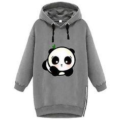 Ladies Hoodies & Sweatshirts - Panda Things