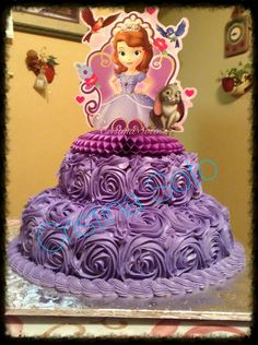 Sofia the first cake
