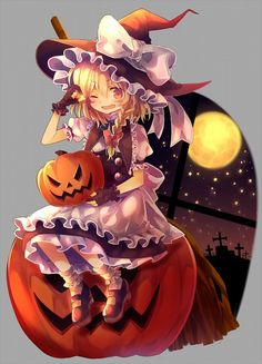 Halloween Anime girl