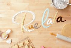 Creative typography (and yummy)