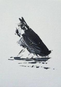 "Saatchi Art Artist Gabriela Horikawa; Painting, ""Seated Schnauzer"" #art"