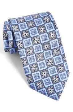 J.Z Richards Geometric Silk Tie