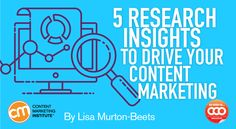 Discover five key insights from Content Marketing Institute's B2B research and how you can use them to help your own programs.