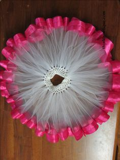 Make a ribbon trimmed tutu - Think Bowtique Blog