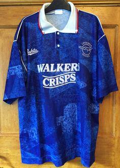 c749f1ac0 Leicester City F.C. RARE 1990 92 Home football shirt Bukta BRAND 42 106cm Leicester  City Football
