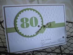 stempeltörtchen: Ein Körbchen zum 80.
