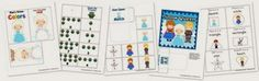Disney's Frozen Tot Printable Activities