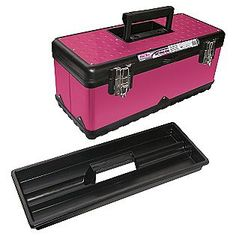 YES!!!!  PINK tool box.  I want it!