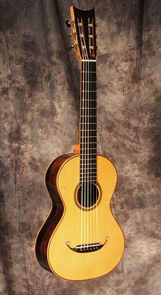 19th Century Terz Guitar