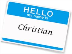 Christian baby boy name Christian Baby Boy Names, Name Boards, Hello My Name Is, Baby Girl Names, Boys, Baby Ideas, Aunt, Babies, Google