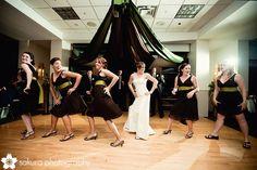 Flash mob with bridesmaids °° The Wedding Dance Party of 2009 | Sakura Photography | Vancouver Weddings