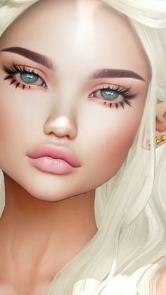 Trendy makeup wallpaper iphone beauty we heart it ideas Art Anime Fille, Anime Art Girl, Makeup Wallpapers, Wallpaper Wallpapers, Trendy Wallpaper, Chica Fantasy, Hair Illustration, Illustration Artists, Best Makeup Artist