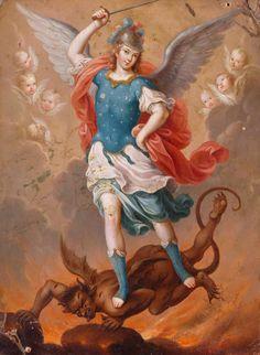 Saint Michael by Nicolas Enriquez
