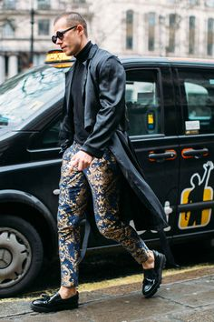 The 87 Best Street Style Looks From Men's Fashion Week: London, Milan and Pitti Uomo - Fashionista