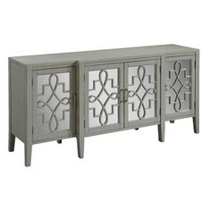 <strong>Coast to Coast Imports</strong> Manry Mirrored Sideboard