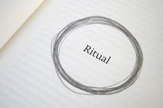 Ritual Objects    Diplom thesis about how some objects transform daily habits into rituals