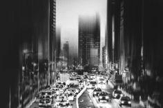 city, evening... by Teruhiko Tsuchida