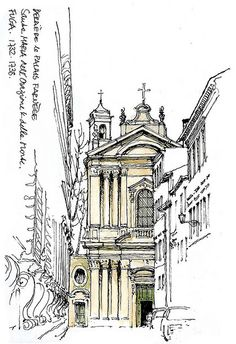 Rome, Santa Maria dellOrazione by gerard michel, via Flickr