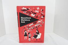 Questions Children Ask by Edith and Ernest by TheDustyBookNook #childrensbooks #etsy