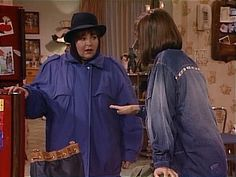 When Roseanne is called away, Jackie impresses Dan and the kids with her homemaking skills. Roseanne Tv Show, Roseanne Barr, Amy Sherman Palladino, Theme Song, Homemaking, Favorite Tv Shows, Dan, It Cast, Actors
