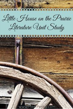 Great ideas for having a Little House on the Prairie Unit Study either in your co-op or home.