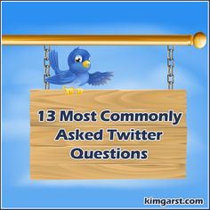 13 Most Commonly Asked Twitter Questions - http://360phot0.com/13-most-commonly-asked-twitter-questions/