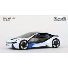 Paragon Models are now available from uk diecast models buy online now!! BMW V.E.D. (LHD) - White