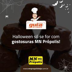 A receita é tão saborosa que até virou indicação para as gostosuras de Halloween!http://goo.gl/wH5h5J * Receita postada na fanpage da MN Própolis foi indicada no Guia da Culinária