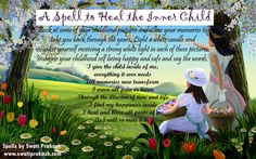 Healing Your Childhood Memories Wicca, Magick, Inner Child Healing, Eclectic Witch, Spell Books, Pagan Witch, Special Interest, Paganism, Occult