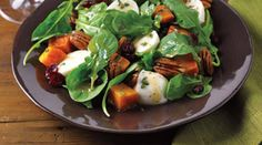 Tre Stelle Recipe - Butternut Squash and Tre Stelle Bocconcini Salad Entree Recipes, Salad Recipes, Keto Recipes, Cooking Recipes, Caprese Salad, Healthy Living Recipes, Healthy Food, Recipes, Butternut Squash