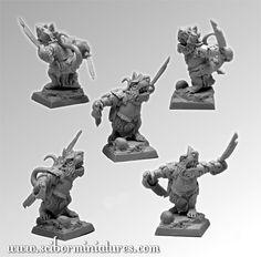 Rat Warrior #2 - Fantasy Miniatures 28mm (x1 fig)