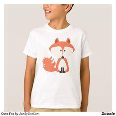 Cute Fox T-Shirt Nov 28 2016 @zazzle #junkydotcom