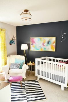 Entzuckend Genial What I Like To Refer To As A Transition Room. Minimal And Easy To  Update As You Grow With It! Bunte Kinderzimmermobel Ideen Minimalist  Wundervoll ...