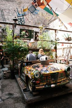 Budapest - Szimpla Kert. The ruin pubs are fooking awesome.